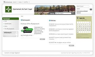 Un espai web permet als santcugatencs oferir les seves opinions per al Pla d'Equipaments