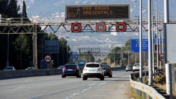 Avís preventiu per contaminació atmosfèrica a Sant Cugat i 40 municipis més