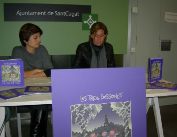 Les Tres Bessones participen en una gimcana per la ciutat en un nou conte cívic