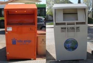 Un total de 43 contenidors recolliran roba vella per incrementar el reciclatge a la ciutat