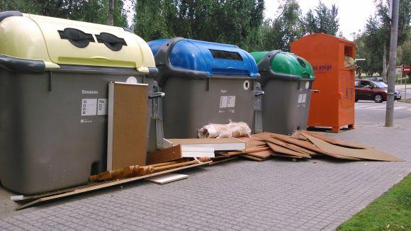 La recollida selectiva a Sant Cugat ha augmentat en 547 tones.