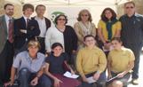 Foto de família dels guanyadors, els seus acompanyants i membres del jurat i l'organització
