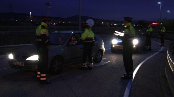 Sant Cugat tanca la nit de Cap d'Any amb quatre accidents de trànsit lleus
