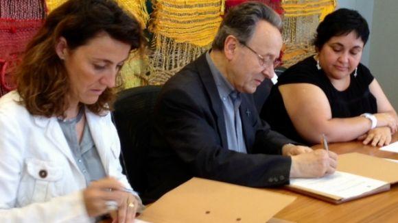 Nou conveni entre Càritas i l'Ajuntament
