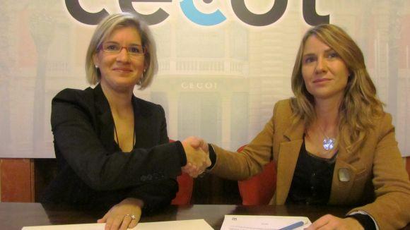 Cecot i Sant Cugat Escola Superior de Negocis s'uneixen per a la formació