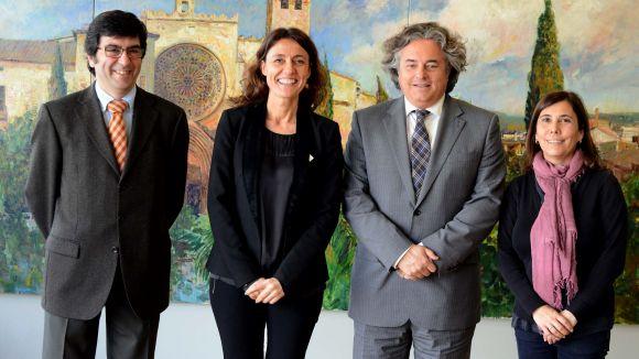 Sant Cugat i FGC s'uneixen per promocionar el turisme a la ciutat