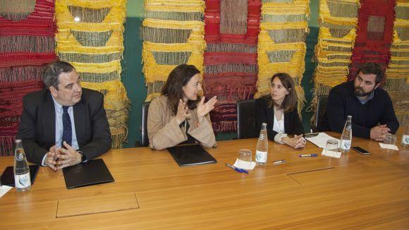 L'HGC, Cugat.cat i la regidoria d'Esports refermen el compromís per promocionar la salut a Sant Cugat