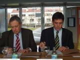 El rotatiu ha signat un conveni de col·laboració amb el teatre santcugatenc