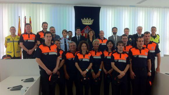 Els Voluntaris de Protecció Civil refermen el compromís amb Sant Cugat