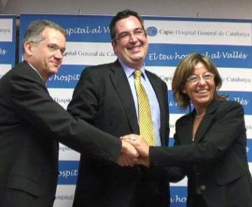 L'Hospital General i el Clínic de Barcelona col·laboraran per millorar el servei de tots dos centres