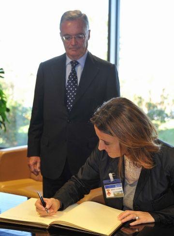 Sensibilitzar sobre els riscos del tabac, lluita comuna de l'Ajuntament i Boehringer