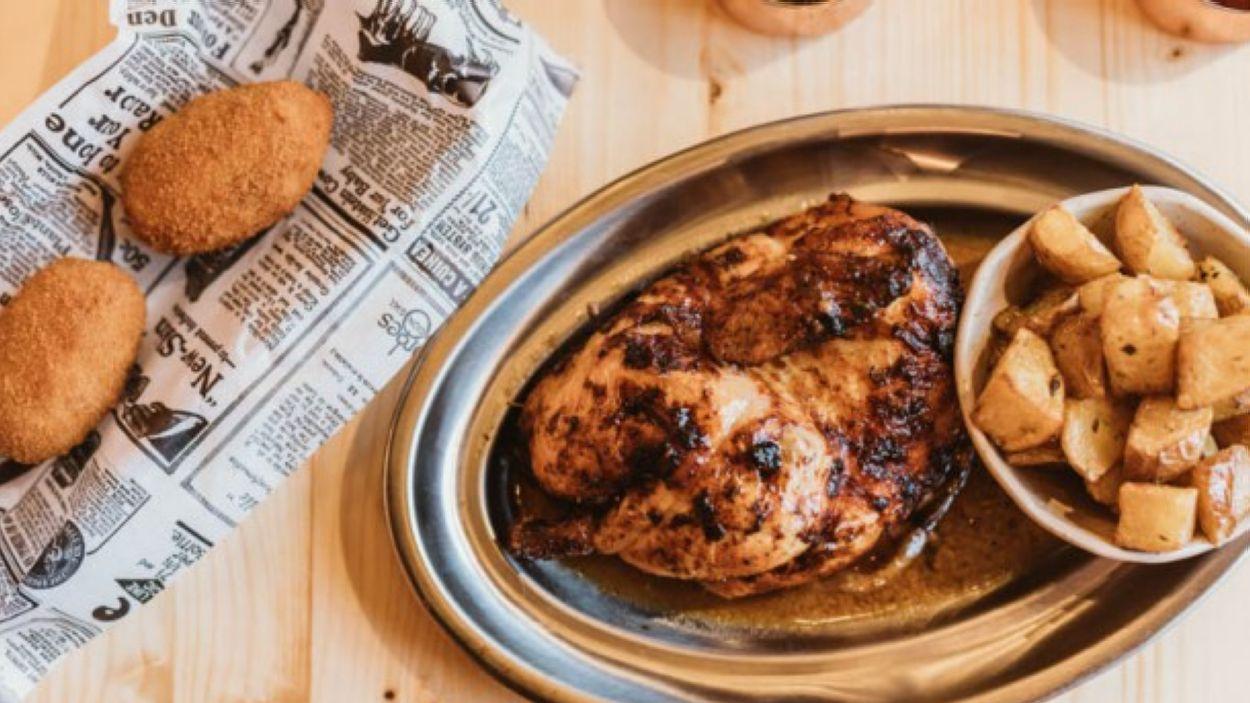 Durant aquests dies de confinament, Coock Slow Food Chicken obrirà de les 11 a les 16h i de les 19 a les 23.30h / Foto:Cedida