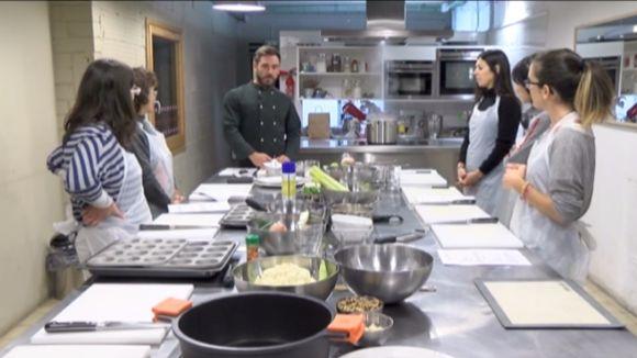 Cugat.cat i Cookiteca apropen en imatges el taller de cuina per a esportistes