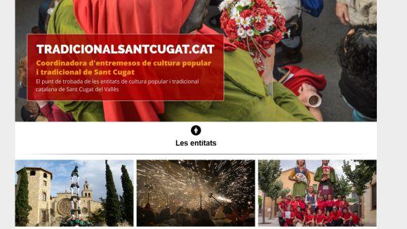La Coordinadora d'Entremesos de Cultura Popular estrena nou web