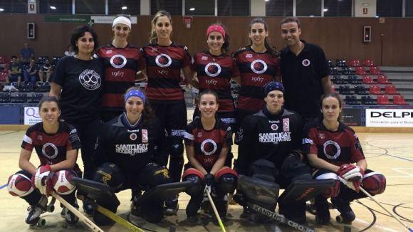 L'equip femení del Patí Hoquei Club Sant Cugat baixa d'Ok Lliga / Font: Patí Hoquei