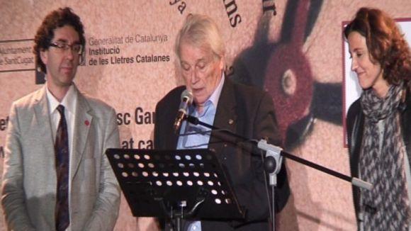 Garriga Barata porta l'esclat poètic a la inauguració del Festival de Poesia