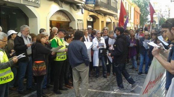 La clau està al carrer: missatge de la 1a manifestació del Primer de Maig