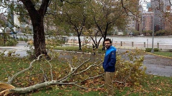 Els efectes de l'huracà 'Sandy': la mirada d'un santcugatenc a Nova York