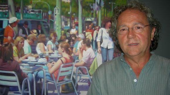 Paco Minuesa acosta el món de l'art a alumnes de l'escola Ciutat d'Alba