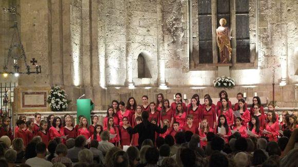 El Cor Infantil Sant Cugat participa a la Festa de la Música Coral de l'Orfeó Català