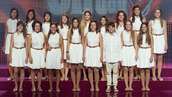 La coral Geriona, participant al concurs de TV3 'Oh happy day' // Fotografia: TV3