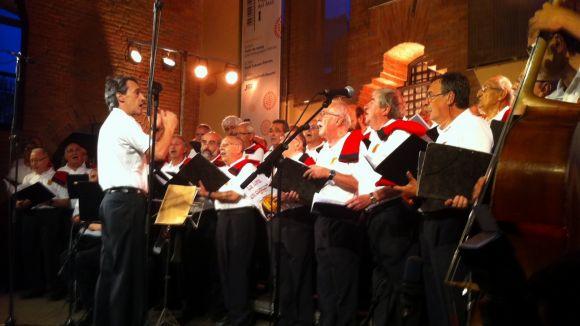 La Lira i la Cobla Sant Jordi s'uneixen avui per Festa Major