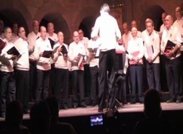Bona assistència al Concert Coral de Nadal al Teatre la Unió