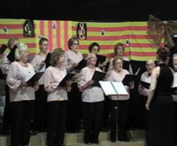 La Coral Tardor reuneix una seixantena de persones en un concert a la Floresta