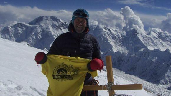 Marc Urzquizu ja va coronar el cim del Khan Tengri al 2016 / Font: Marc Urquizu