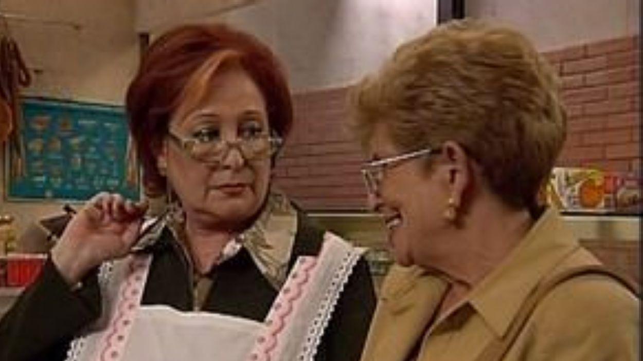 Fotograma de la sèrie 'El cor de la ciutat', en què Contreras interpretava a la Roser