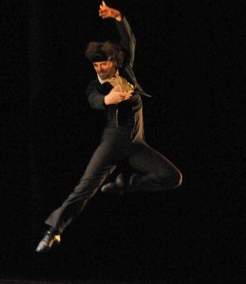 Ángel Corella assaja el seu últim treball al Teatre-Auditori
