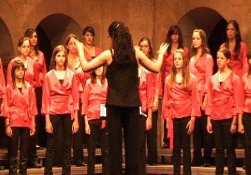 Els cors infantils de Sant Cugat i Sant Marc comparteixen escenari al Palau de la Música