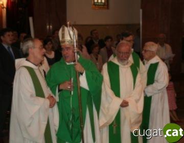 Mossèn Conrad Martí deixa la parròquia de Valldoreix després de 16 anys a Sant Cebrià