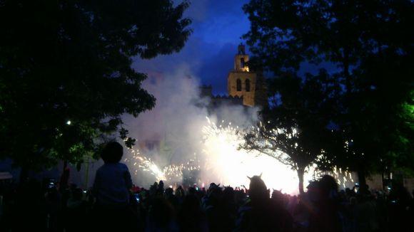 L'Encabronada fa esclatar de foc i so Sant Cugat