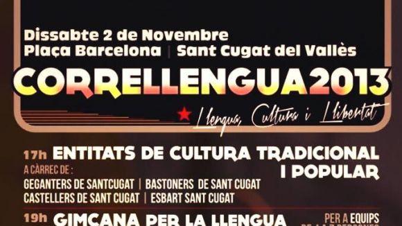 El Correllengua 2013 es farà a la plaça de Barcelona