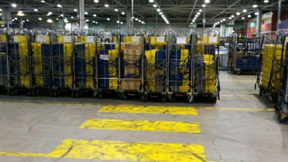 El sindicat SiPcte alerta d''absència de seguretat laboral' i manca de personal al pavelló postal de Can Sant Joan