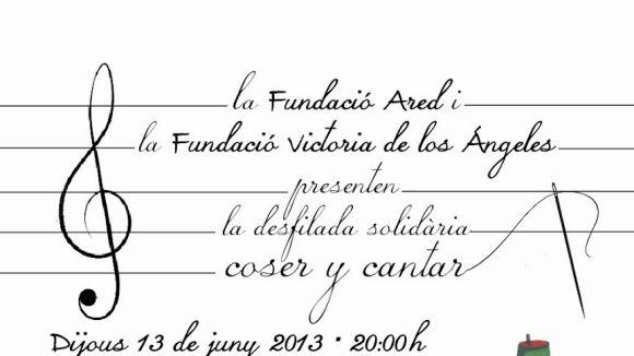 La Fundació Victoria de los Ángeles promou la iniciativa 'Coser y Cantar'