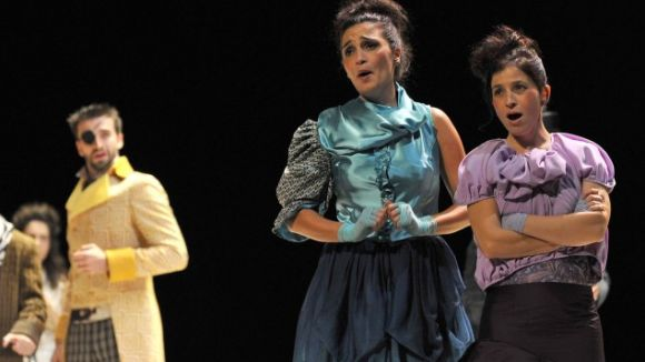 Moment de la representació / Foto: Teatre-Auditori