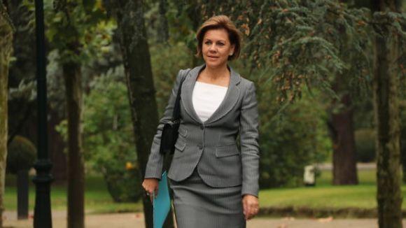 La ministra de Defensa espanyola, Maria Dolores de Cospedal / Foto: ACN