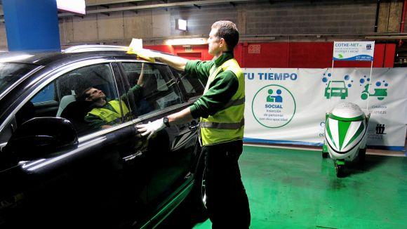La Fundació Gaspar de Portolà ofereix el servei ecològic Cotxe-Net a EsadeCreapolis