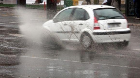 Sant Cugat està en estat d'alerta per la previsió de fortes pluges