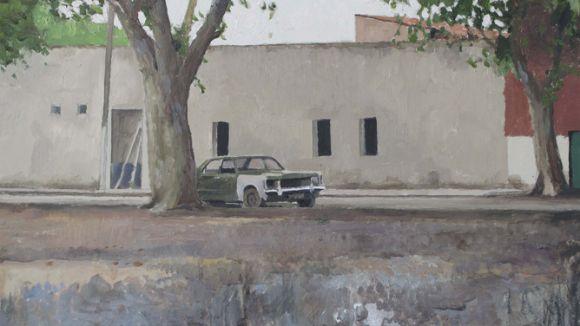 Les pintures de Xavier Rodés a La Galeria des d'avui