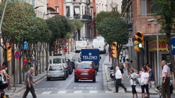 Els vehicles contaminants tindran restriccions per circular al centre / Foto: Web de l'Ajuntament