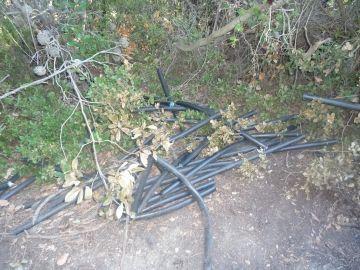 Tres detinguts per robar cable de coure a Sol i Aire