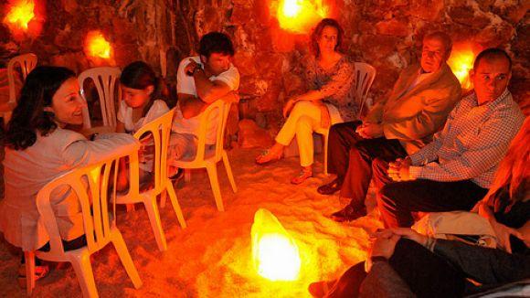 Una cova de sal a Sant Cugat