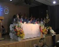 El CPA celebra la Creu de Maig amb una ofrena de 2.500 clavells