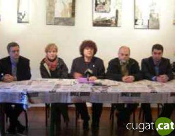 Montserrat Turu formalitza el trencament del pacte de govern de l'EMD