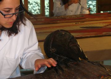 Restauren a Sant Cugat una de les imatges més importants del romànic català