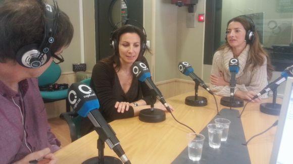 Cristina Casale i Patrícia de No han acompanyat el col·laborador del SAF Xavier Blanch