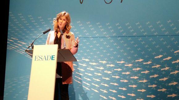 L'exministra Garmendia fa una crida a repensar l'educació a la inauguració del curs d'Esade